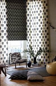 Tendance Rideaux Salon : changer la d co du salon avec rideaux et coussins ~ Premium-room.com Idées de Décoration