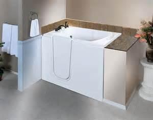 Bathtub with Walk-In Tub Door
