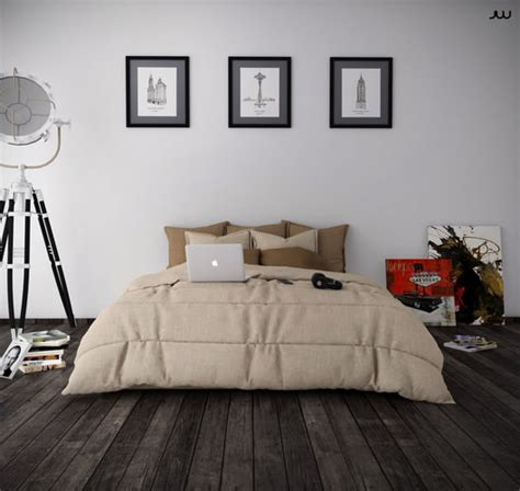 3d Model Bedroom Minimalist Cgtrader