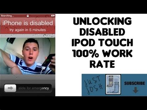 how to unlock iphone 5 passcode disabled touch 100 videolike