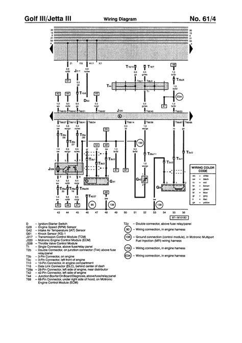 98 Vw Jettum Wiring Diagram by Repair Guides