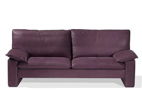 canapes duvivier 3 seater leather sofa bartholdi by canapés duvivier