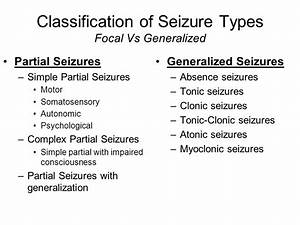Epilepsy and Seizures Clinical Correlation. - ppt video ...