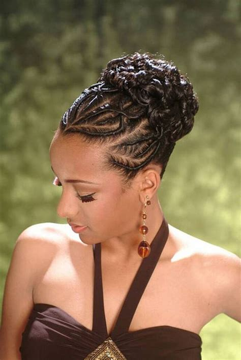 American Hairstyles Updos Pictures by American Braid Updo Hairstyles Hair