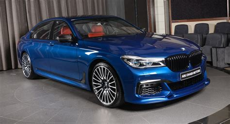 Avus Blue 750li Is An Alluring Mix Of Bmw Individual And