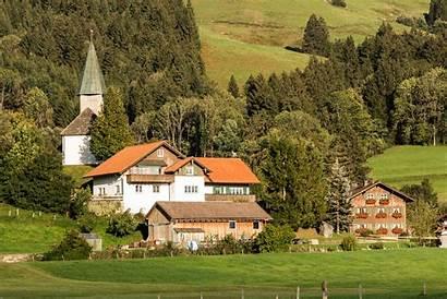 Village Pemandangan Gambar 1920 Montagna Montagne Ide