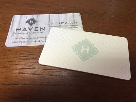 cotton letterpress business cards