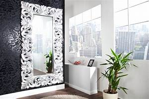 Spiegel Silber Antik : riesiger barock spiegel venice silber antik 90x180cm riess ~ Eleganceandgraceweddings.com Haus und Dekorationen