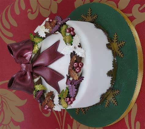 traditional christmas cake paul bradford sugarcraft school