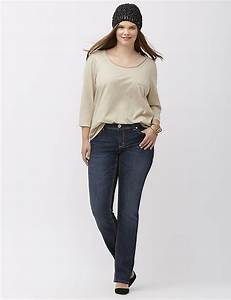 Women 39 S Plus Size Straight Leg Jeans Denim Lane Bryant