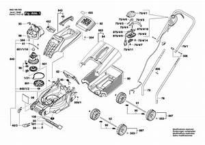 Bosch Rotak 32    3600h85b00 Spare Parts