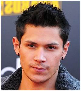 hairstyles for thick hair men 2015