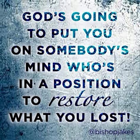 God inspirational quotes, bacolod city. God going to put you on someone's mind who's in a position to restore what … | Spiritual quotes ...
