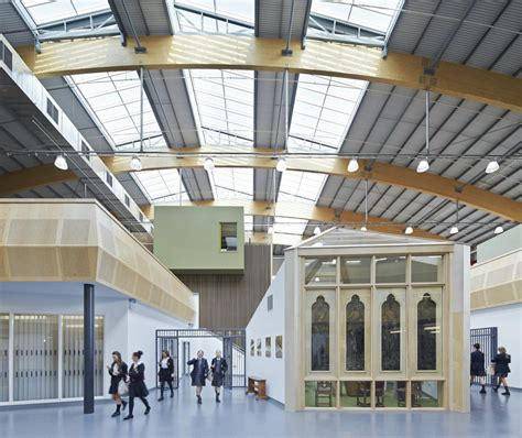 Notre Dame Catholic College, Liverpool Earchitect