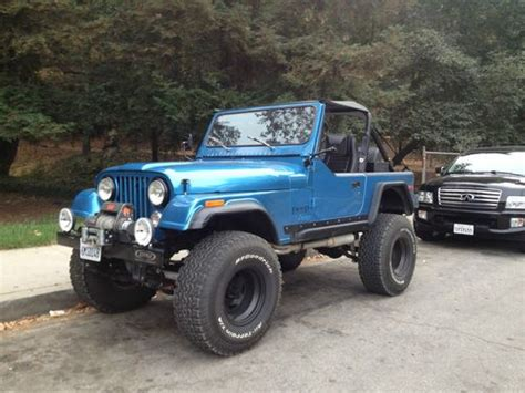 jeep tires 35 sell new 1979 custom built amc jeep cj7 with v8 35 quot tires