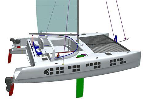 Catamaran Hull Design by Detail Catamaran Plans For Sale Asriel