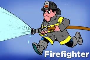 Cartoon Firefighter Clip Art