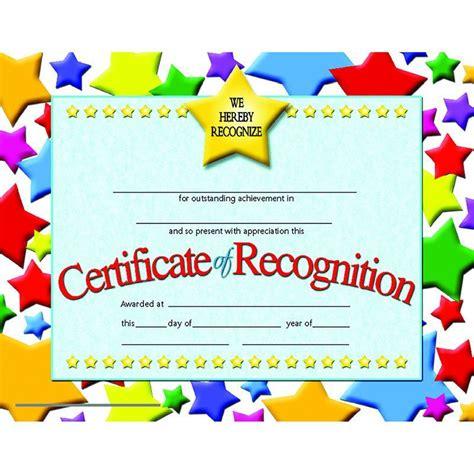 certificates  recognition  pk behavior certificate