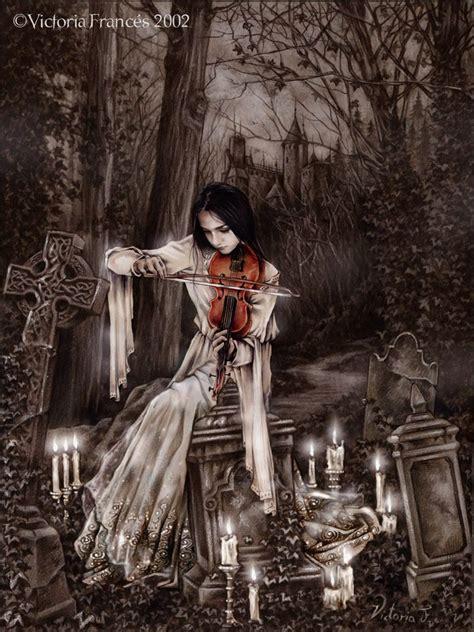 melodias tras la hojarasca victoria frances fantasy artists   victoria frances gothic fantasy art gothic artwork