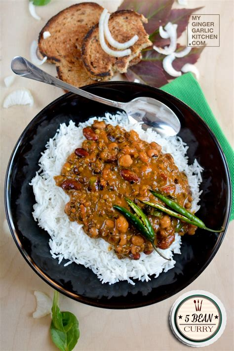 bean curry recipe    multi beans curry