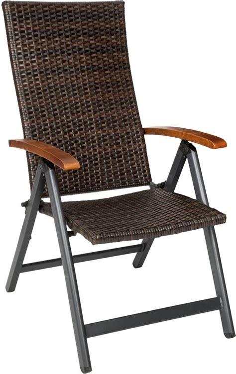 tuinstoelen met hoge rugleuning bol tectake tuinstoel relaxstoel klapstoel met