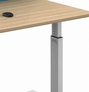 Manual Set Height Adjustable Single Desks