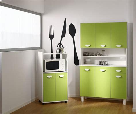 cuisine vert pomme buffet de cuisine vert pomme