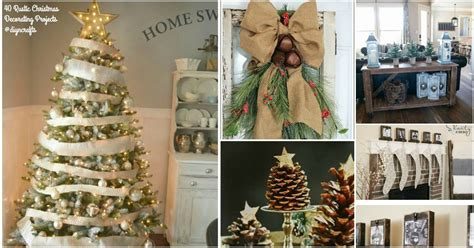 rustic christmas decor ideas   build