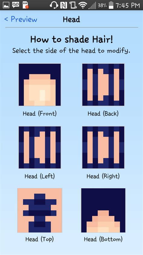 How To Shade Hair by How To Shade Hair A Crafty Tutorial 3 Minecraft