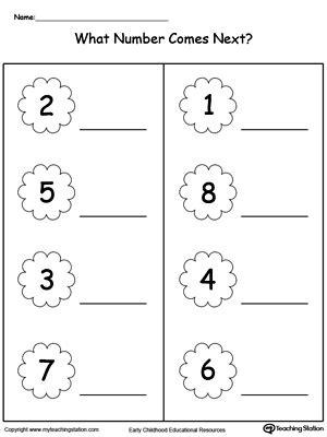 what comes after preschool early childhood position and direction worksheets 739