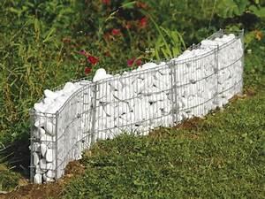 Gitter Für Steine : gabionen mauer verschiedene formen m glich bellisa ebay ~ Michelbontemps.com Haus und Dekorationen