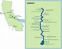 Kaweah River Mile-by-Mile Map