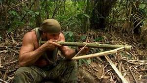 DIY Survival:How To Make A Crossbow From Scratch