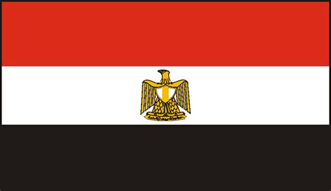 Flag Of Egypt Coloring Page