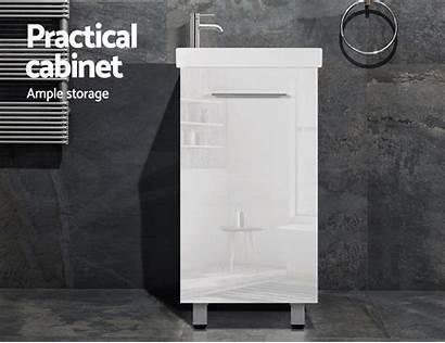 Bathroom Cabinet Vanity Sink Basin Wash Freestanding