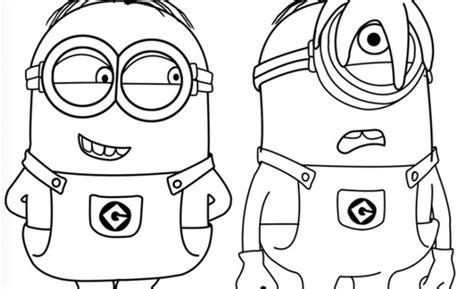 disegni per bambini di 5 anni da colorare disegni da colorare minions per bambini mamme magazine