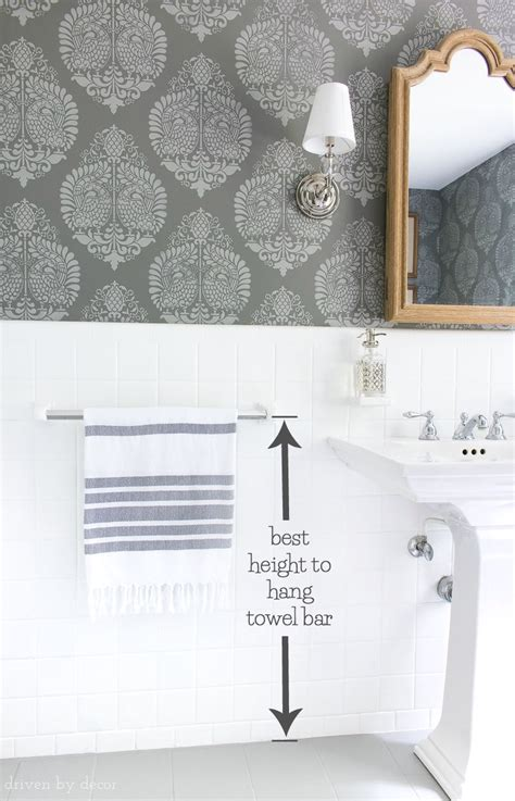 18 curtain rod must measurements for your bathroom how high to hang