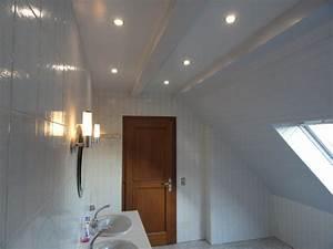 quel faux plafond salle de bain renover en image With faux plafond de salle de bain