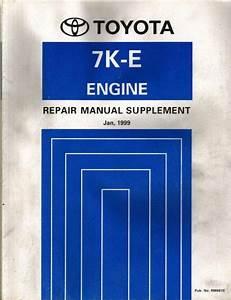 Jual Manual Book Toyota Kijang 7k    7k