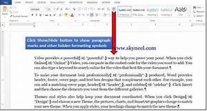 Creating Index or Mark An Index Entry in MS Word