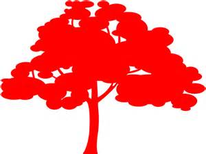 Western Red Cedar Silhouette | Free vector silhouettes