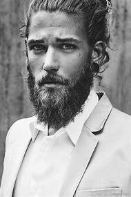 Beautiful Men with Beard and Long Hairs