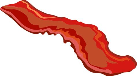Bacon Clipart Bacon Grilled 183 Free Vector Graphic On Pixabay
