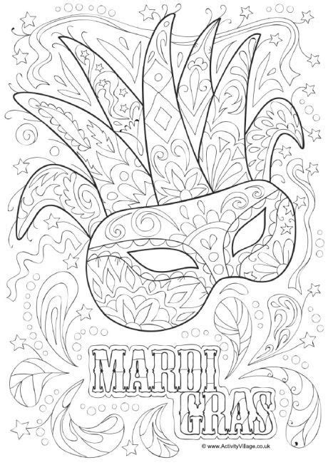 mardi gras coloring sheets 14 best coloring pages mardi gras images on
