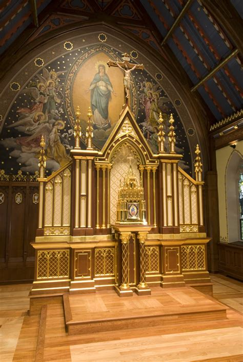 chapel   immaculate conception  seton hall university