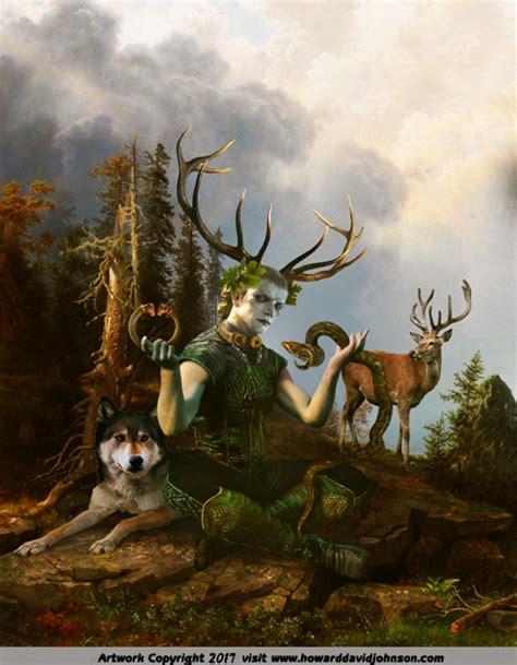 Celtic Mythology Paintings