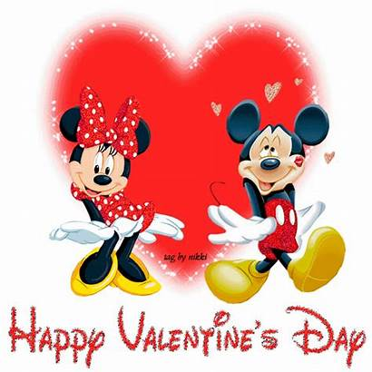 Graphics Glitter Valentine Happy Mickey Minnie Seasonal