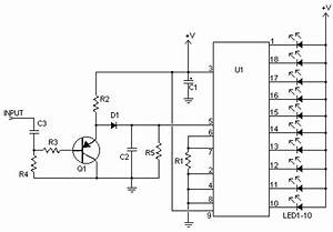lm3915 circuit how to adjust input level electrical With vu meter circuit with 10 led b2b electronic components