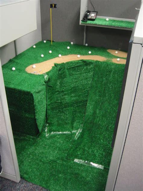 mini golf bureau 30 creative april fools office pranks
