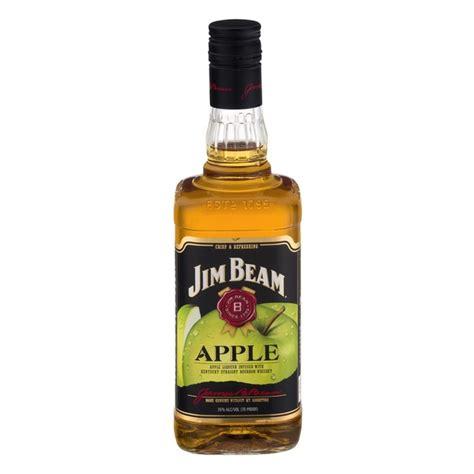 jim beam apple jim beam apple bourbon whiskey from total wine more instacart